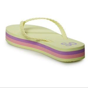 SO Helio Women's Flip Flop Sandals XL Sz 11